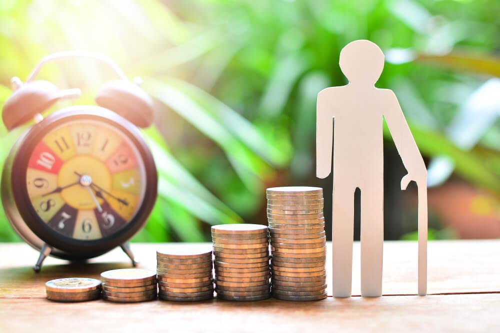 Lana pengar som pensionar